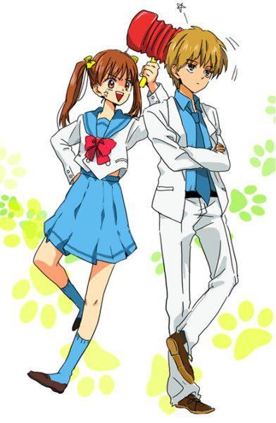 Sana and Akito #anime #animegirl