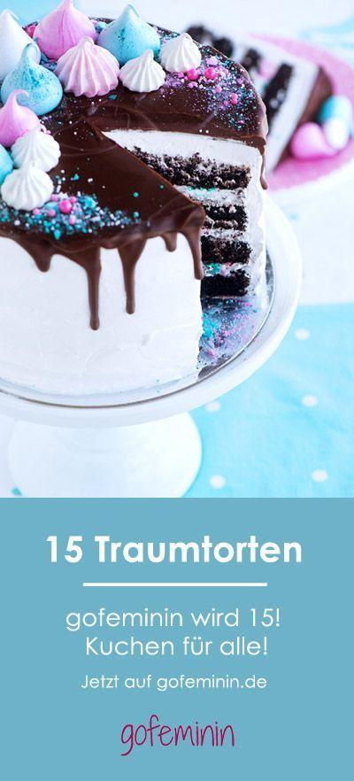 Wir werden 15! Diesen Traumkuchen wünschen wir zum Geburtstag – und die anderen 15 auch! – Torten