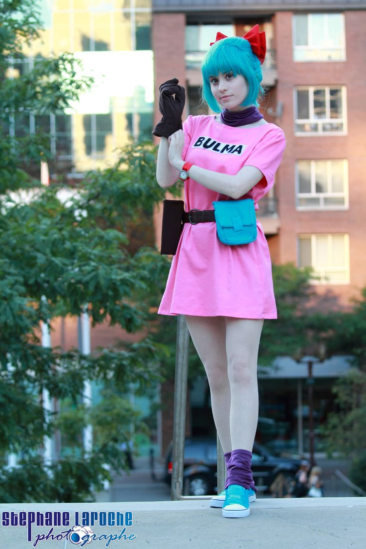 Bulma, cosplayed by straywind, photographed by Stephane Laroche