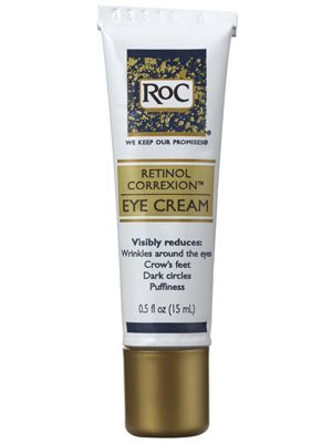 This lightweight RoC Retinol Correxion Eye Cream reduces puffiness and is gentle enough to use twice a day, even under makeup....
