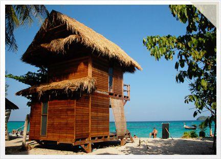 Koh Lipe Bungalows - Enjoy Large Stylish Sea View Beach Bungalows at Koh Lipe Castway Beach Resort