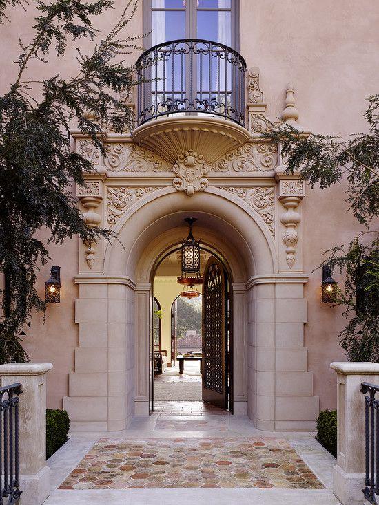 Beautiful details, Spanish Colonial manse