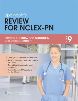 17 best nursing materials at epl images on pinterest being a nurse lippincotts review for nclex pn barbara kuhn timby ann carmack diana l fandeluxe Images