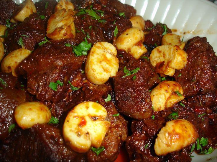 Receita de Carne Saborosa.  demora apenas 50 minutos.