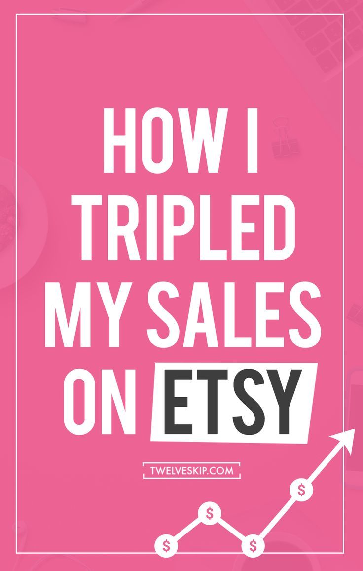 How To Dramatically Increase Your Sales on Etsy | Check out this post for some great tips on how to improve your Etsy shop sales.