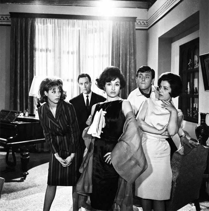 Finos Film - Photo Gallery Ταινίας: 'Ένα Κορίτσι Για Δύο' (1963)