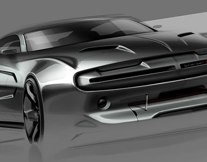 Some Badass Muscle Cars Renderings Cars Car Wheels Concept Cars