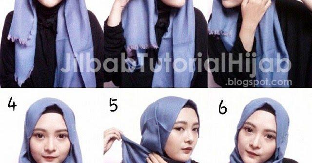 Tutorial Hijab Anting Segi Empat Tutorial Lif Co Id