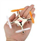 KKmoon HT F803C 4CH 2.4GHz 6-Axis Mini Headless Gyro UFO Drone Quadcopter RTF With Camera FPV-Golden - http://dronesheaven.ianjweboffers.com/kkmoon-ht-f803c-4ch-2-4ghz-6-axis-mini-headless-gyro-ufo-drone-quadcopter-rtf-with-camera-fpv-golden/