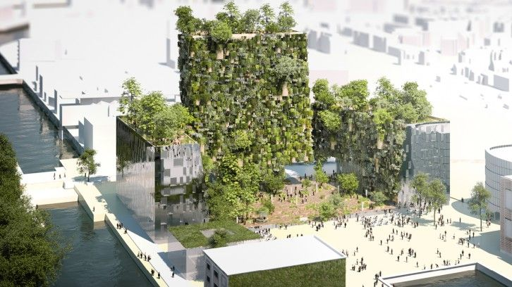 Chaise Urbaine: Das neue schicke und grüne Viertel in Straßburg