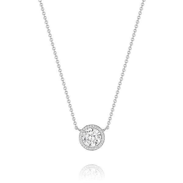 19 best diamond pendant images on pinterest diamond necklaces tacori encore white gold 1 carat diamond pendant center diamond not diamond necklace simplediamond aloadofball Gallery