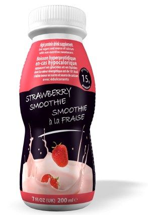 This is a fantastic product from www.thekeediet.co.uk 200 mls of Strawberry smoothie giving you a full 15 g of protein and just 101 calories per bottle.  Perfect for taking out for that ready made lunch, or use whilst shopping instead of being tempted.