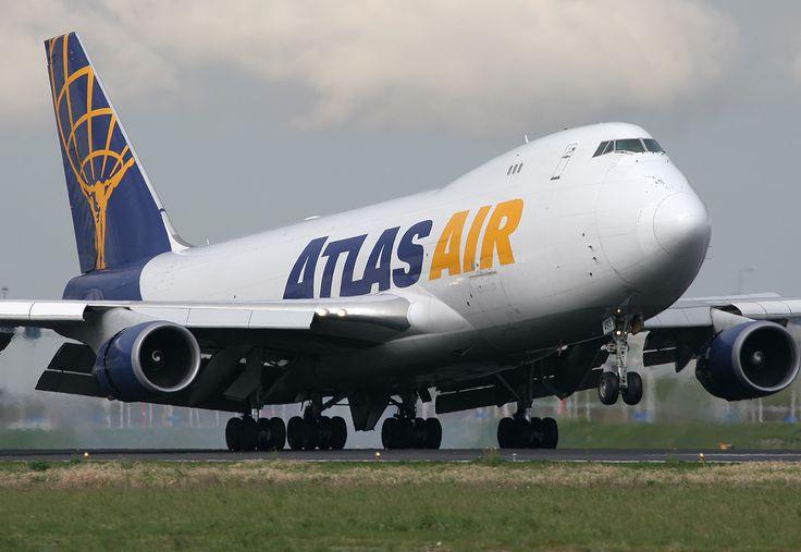 Atlas Air Boeing 747-47UF/SCD N493MC