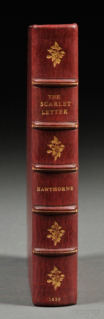 the scarlet letter by nathaniel hawthorne 1850 first edition