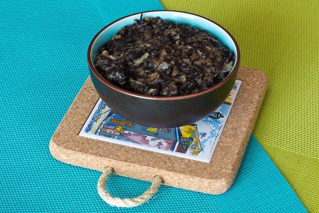 Caviar de berenjena y alga hiziki o hijiki / Eggplant Hiziki Caviar – Veganizando