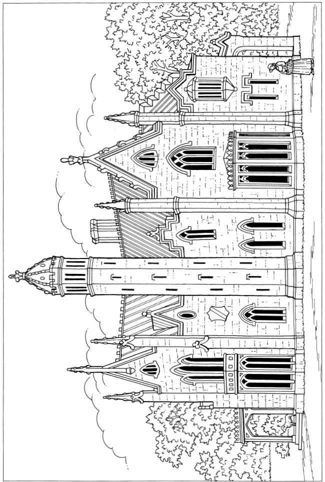 756 best Adult Colouring~Buildings~Houses ~ Cityscapes