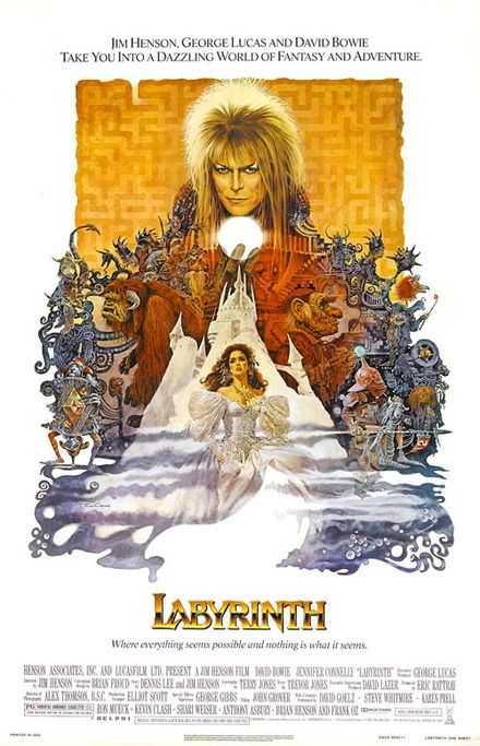 Labyrinth - I have this as a tapestry which will hang in my bedroom. I'll Decorate around this.
