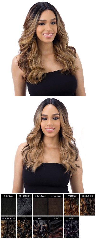 Valentino Freetress Equal Synthetic 5 Inch Deep Lace Part Wig Long