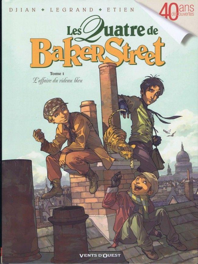 Trois détectives en herbe pour une enquête digne du maître de Baker Street ! Billy, Charlie et Black Tom sont inséparables. Dans l'East End londonien, peuplé de faux mendiants, de vrais ruffians et de franches canailles, les trois amis peuvent heureusement compter sur la protection d'un certain Sherlock Holmes, pour lequel ils font parfois office d'espions des rues..