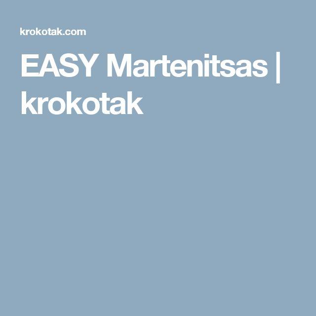 EASY Martenitsas | krokotak