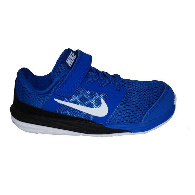 Παπούτσι αθλητικό #Nike, ρουά-μαύρο, με αυτοκόλλητο κούμπωμα και λάστιχα.