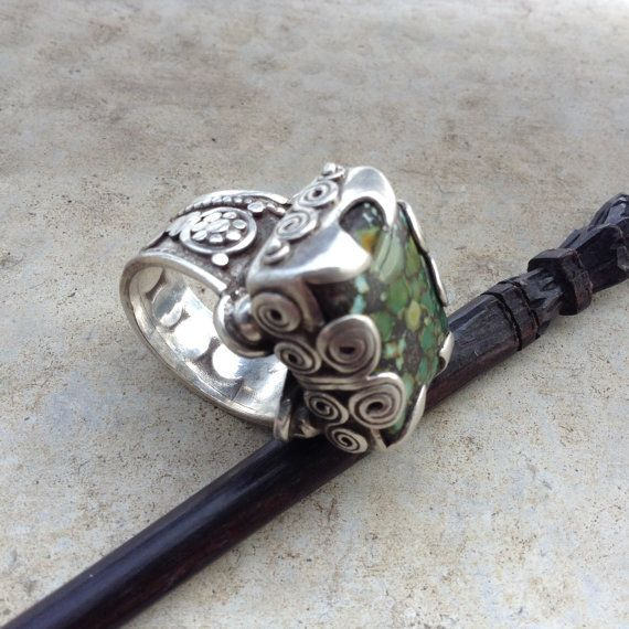 Hey, I found this really awesome Etsy listing at https://www.etsy.com/listing/238344855/tibetan-antiquevintage-silver-inlay
