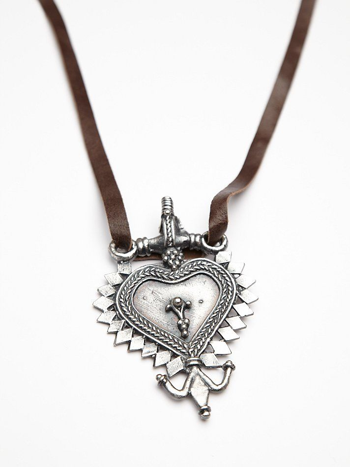 "Paulina Barcelona ""Love necklace"" at Freepeople.com"