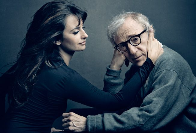 Woody Allen and Penelope Cruz, photo by Annie Leibovitz                                                                                                                                                                                 Plus
