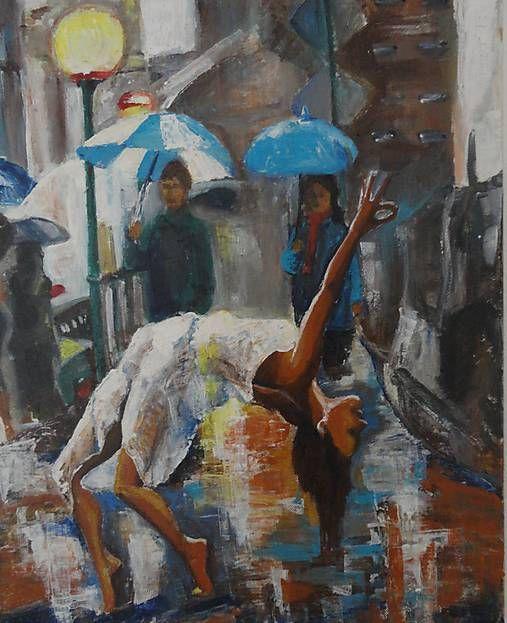 ArtDia / Joga v daždi
