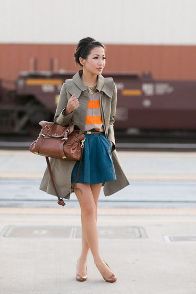 Color Story Revisited :: Teal skirt