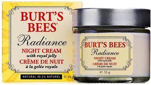 Burt's Bees Crème de Nuit à la Gelée Royale, Radiance, 55 g | Ecco Verde