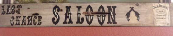 Last Chance Saloon by ScrapwoodSigns on Etsy