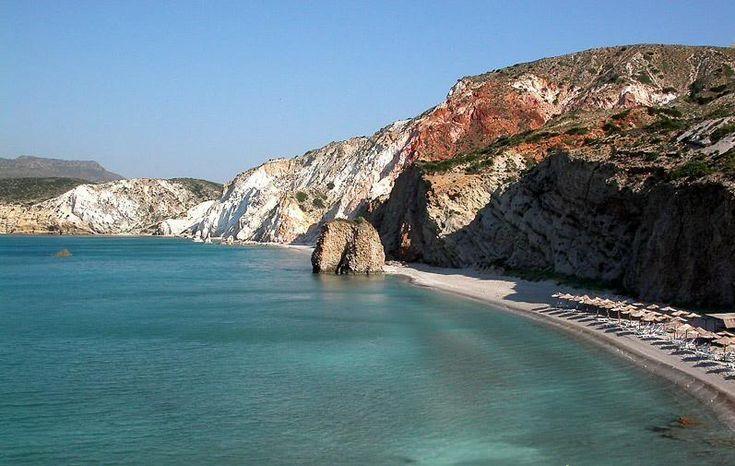 Firiplaka beach, Milos island,