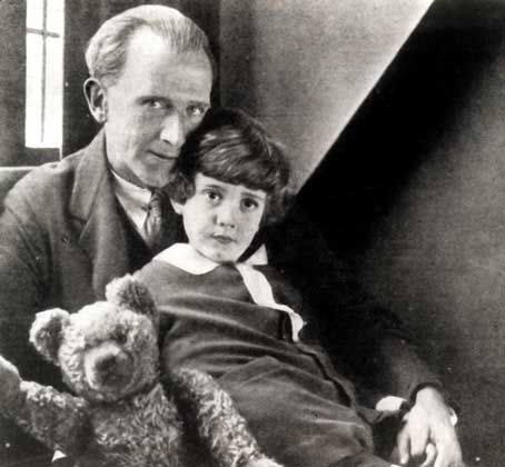 Alan Alexander Milne  (18 January 1882 – 31 January 1956) was an English author, best known for his books about the teddy bear Winnie-the-Pooh and for various children's poems. Milne was a noted writer, primarily as a playwright, before the huge success of Pooh overshadowed all his previous work.