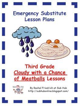Third Grade Emergency Sub Plans March Themes Ideas Pinterest