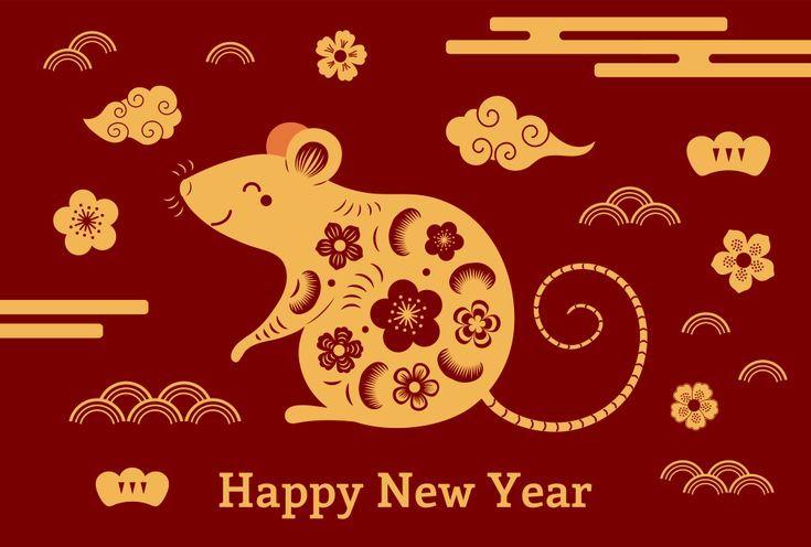 Annee Du Rat Images Du Nouvel An Chinois 2020 Annee Chinois Images Nouvel Joyeux Nouvel An Chinois Nouvel An Chinois Decorations Nouvel An Chinois