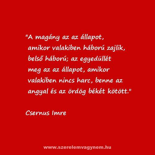 Csernus Imre idézet