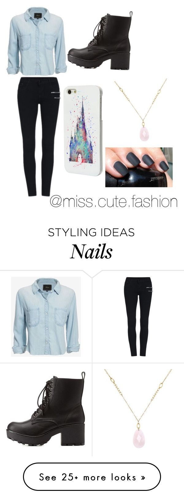 """""""Untitled #255"""" by xrandomfangirlx on Polyvore featuring Rails, Charlotte Russe, Disney and White House Black Market"""