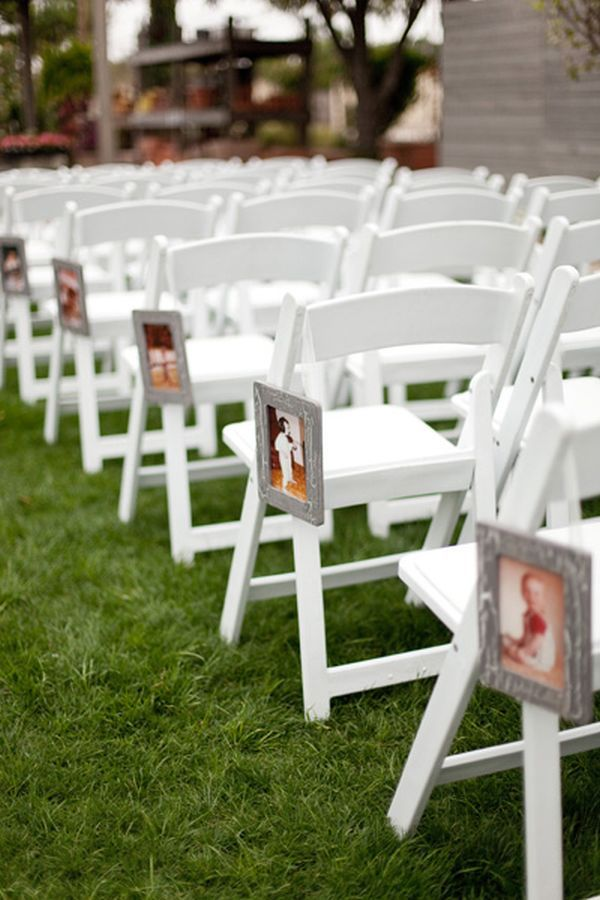 45 Chic And Simple Ideas For Decorating The Wedding Chairs
