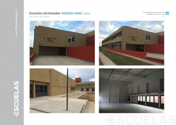 Nueva Escuela Técnica Nº 2 en Campana y nuevo edificio para la Secundaria Nº 20 de Morón - Hay 1.880 escuelas construidas durante nuestro gobierno, 990 en proceso de construcción, y 7.250 obras de refacción y ampliación. Es la responsabilidad de la gestión de un gobierno garantizarle a nuestros hijos dónde van a estudiar - http://www.cfkargentina.com/nueva-escuela-tecnica-no-2-en-campana-y-nuevo-edificio-para-la-secundaria-no-20-de-moron/