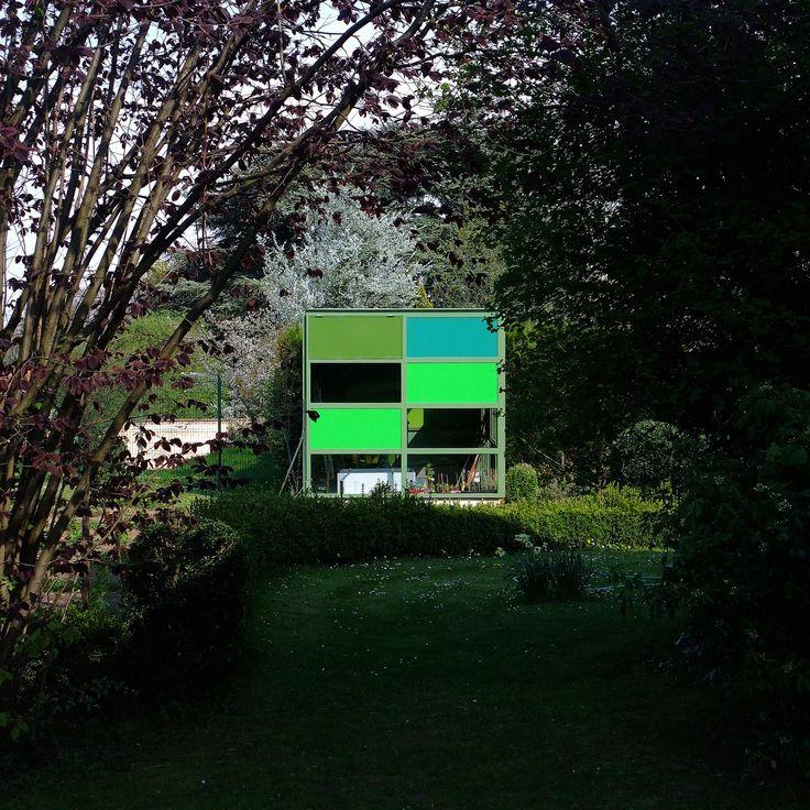 Garden cottage in Rhone, France.