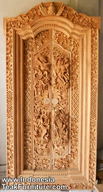 Wooden Doors Carved Wooden Doors Bali