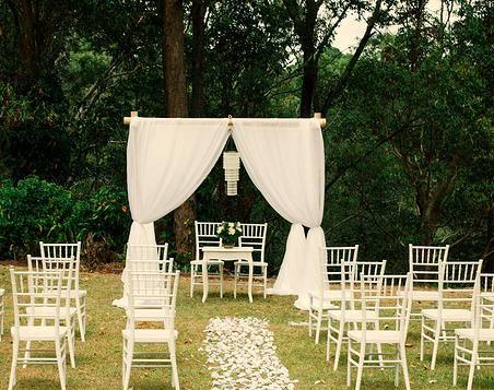 Goldcoastweddingeventhire Gold Coast Wedding Ceremony Garden Glam