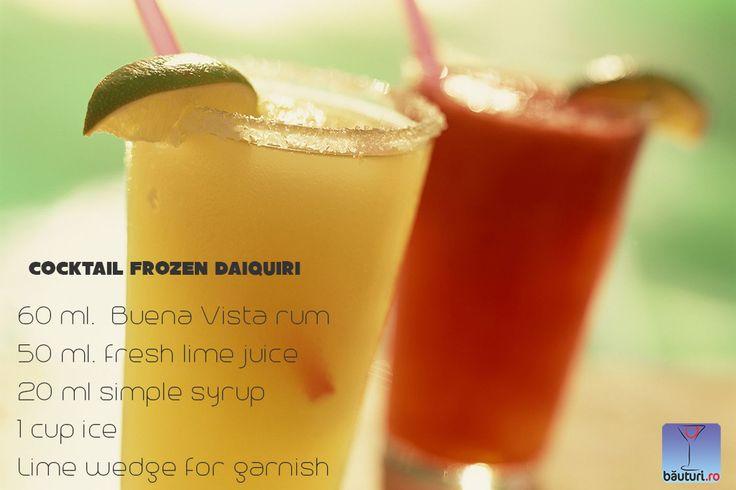 Sun is shining and Frozen Daiquiri rising.   Al you need is...