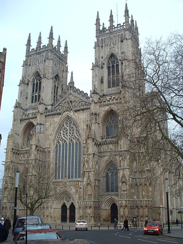 YorkMinsterWest - English Gothic architecture - Wikipedia, the free encyclopedia