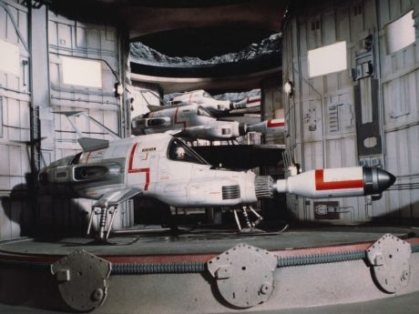 SHADO Interceptor Ship from the UK TV series UFO, 1969-70.