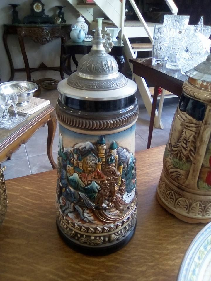 Zoller and Born limited edition beer stein 963 / 5000