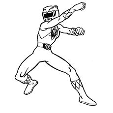 blue power ranger coloring pages - photo#36