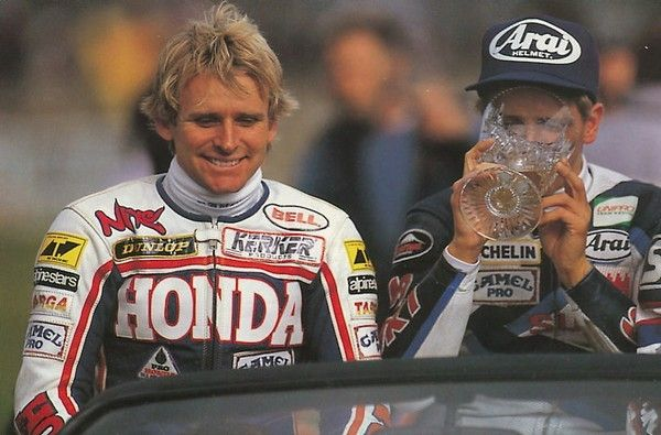 WAYNE RAINEY with Kevin Schwantz