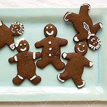 Crispy Gingerbread Men - 1 cookie - 2 p+    (this would be great for making cochinitos / pig shaped cookies as well)